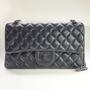 Nancy Hue Matelasse Classic Flap bag