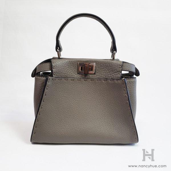 Nancy-Hue-Gander-Mini-Bag-Pebbled-Grey-