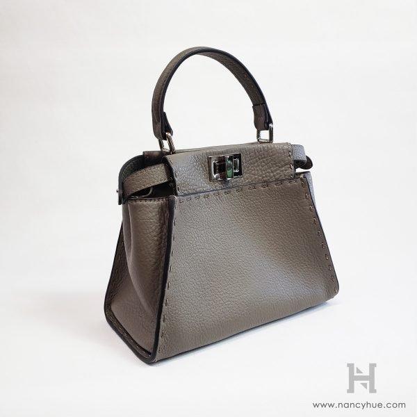 Nancy-Hue-Gander-Mini-Bag-Pebbled-Grey-Side