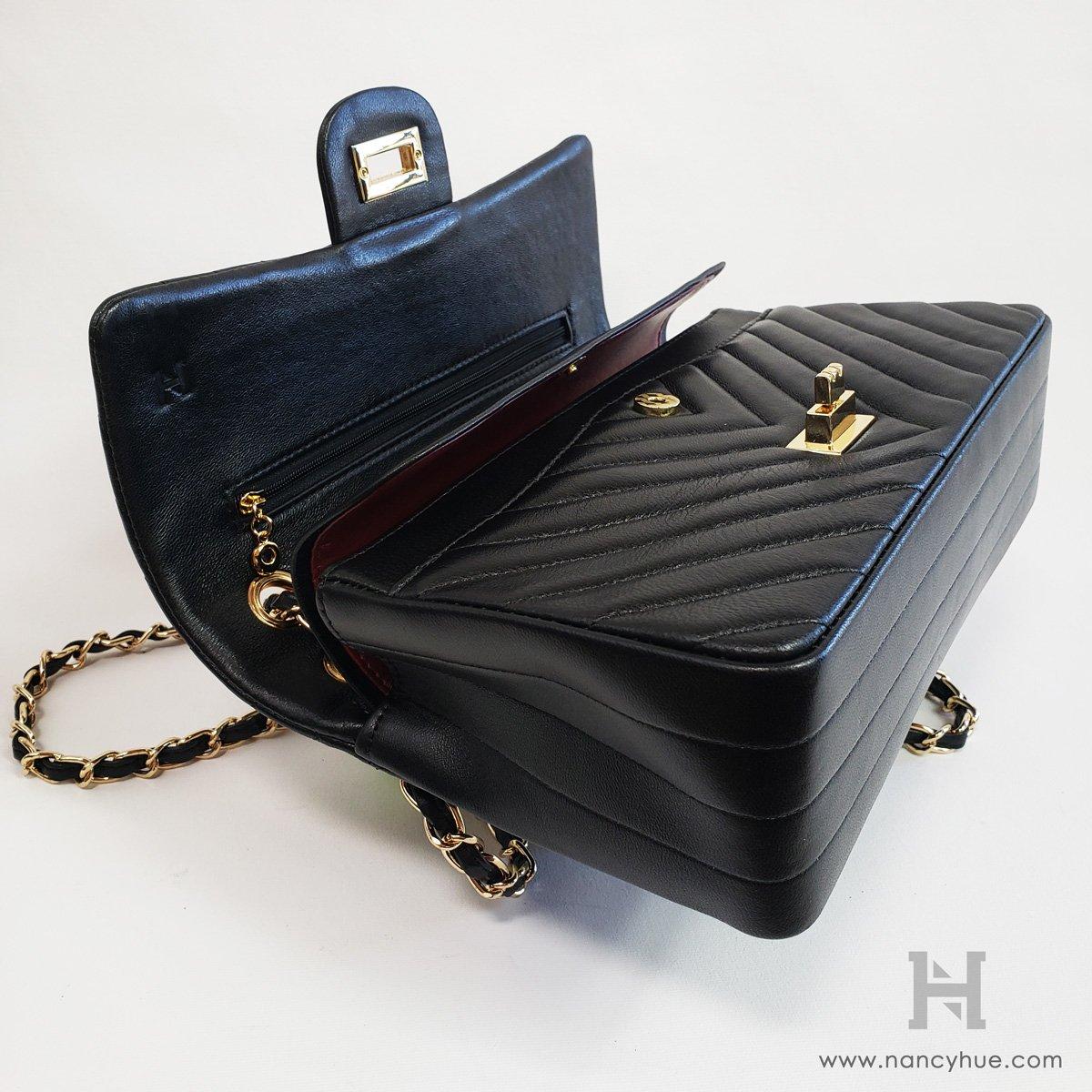 Nancy-Hue-Matlasse-V-Bag-Inside-Flap