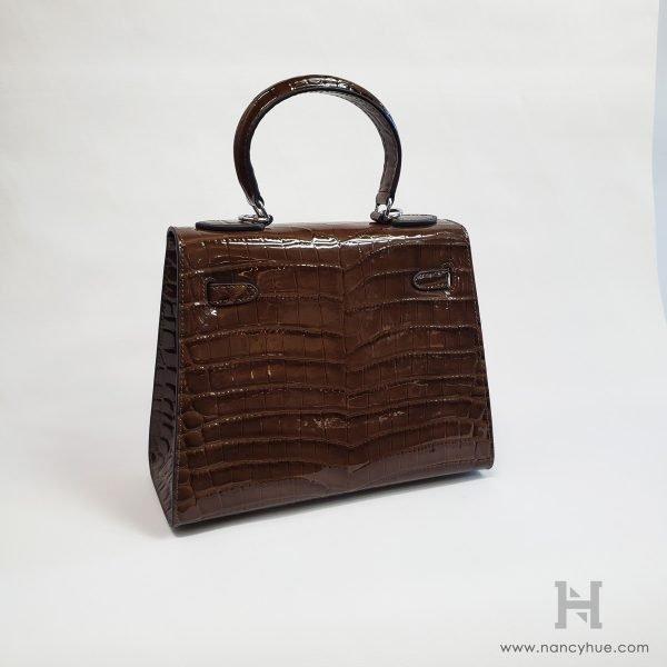 Nancy-Hue Tenir-Bag Taupe Back