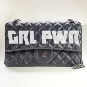GRL PWR Nancy Hue Flap Bag