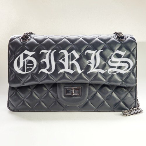 Girls Nancy Hue lambskin leather Flap Bag
