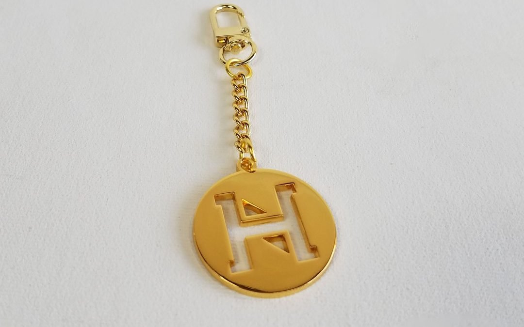 Our gold key and bag charm is the best accessory to add to any handbag
