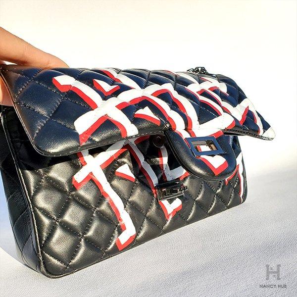 bespoke design matelasse flap bag - under flap