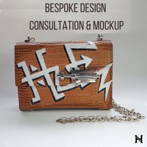 Bespoke Handbag Design Consultation and Design Mockup